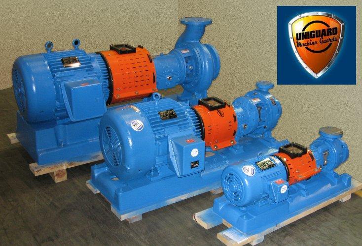 ANSI Pump Guards by Uniguard Machine Guarding Solutions