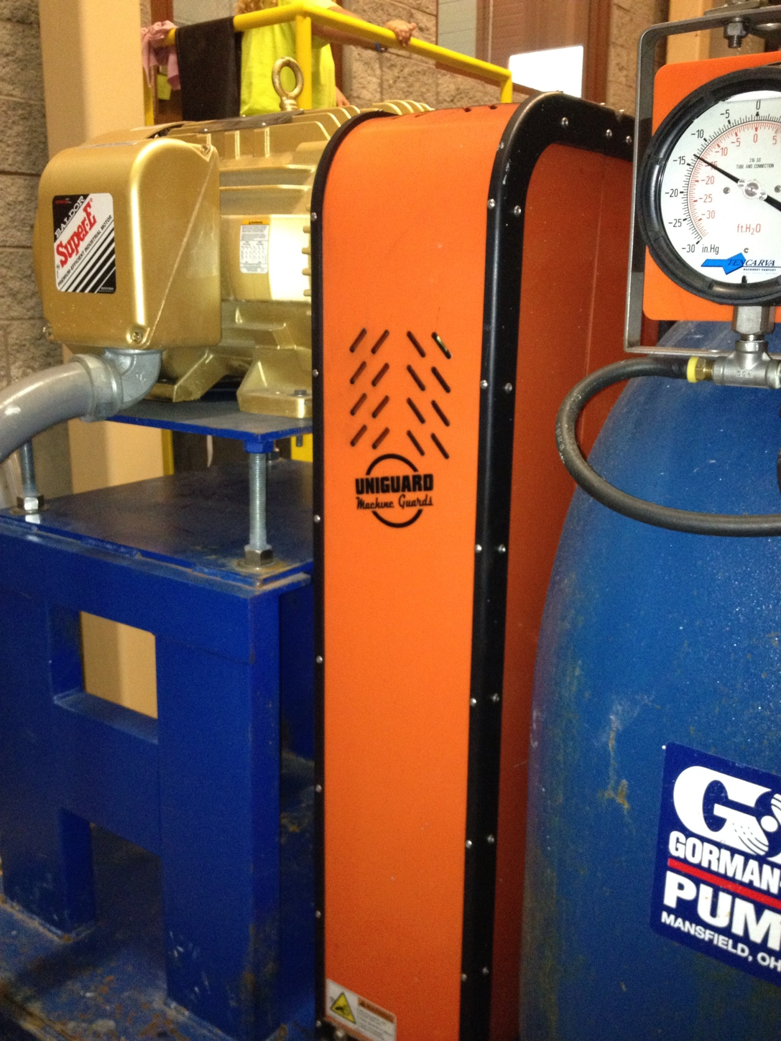 BELT MACHINE GUARD FOR GORMAN-RUPP PUMP