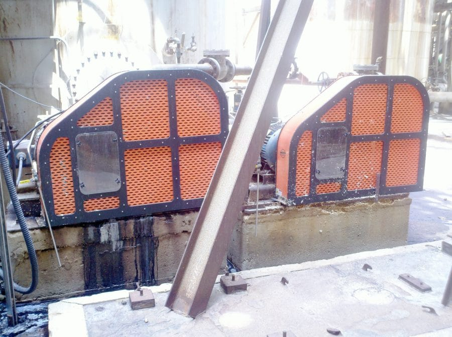 Beltguards with Inspection windows