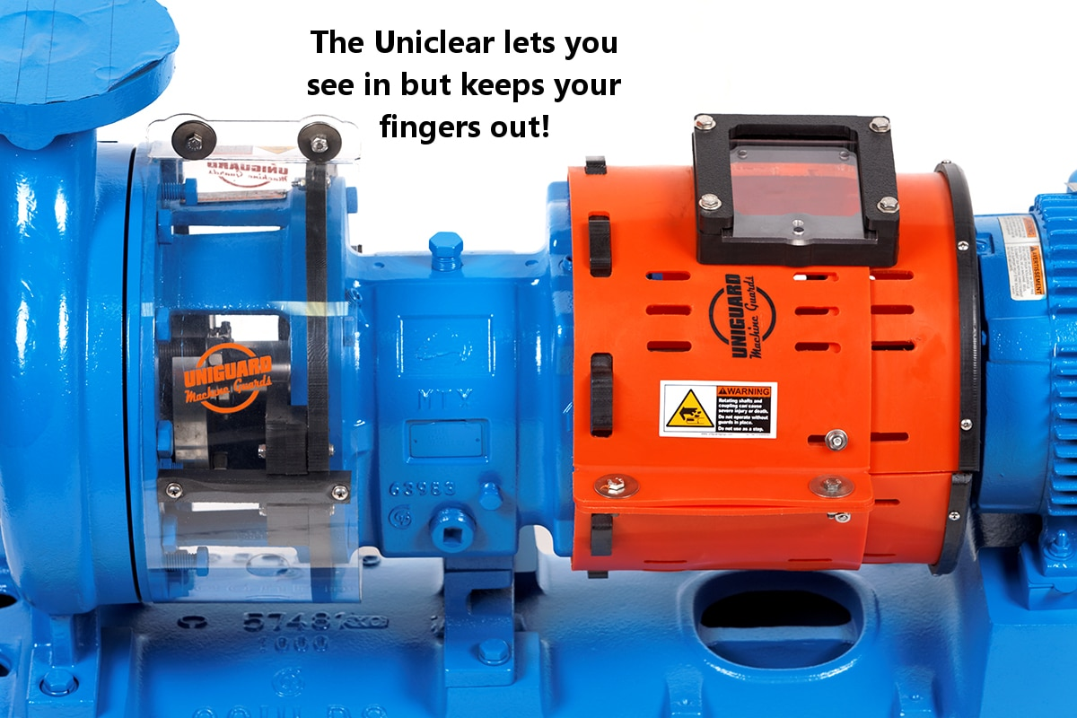 Uniguard Uniclear Shaft Guards Uniguard Machine Guards