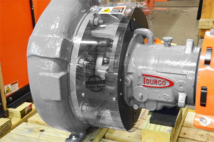Uniclear Machine Guard for Durco Pump