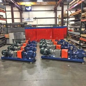 Machine Guarding Gorman-Rupp Gear Pumps