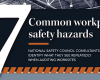 7 Workplace Safety Hazards