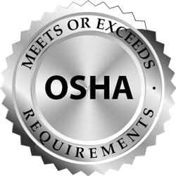 Meet or Exceeds OSHA Requirements