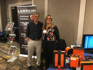 EASA Show held in Toronto CA last week with Lawrcon Electric.