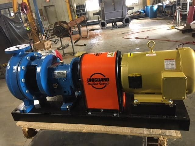 Frakes – Pump Outfitting Pump Skids with Uniguard CGU Kit Guards
