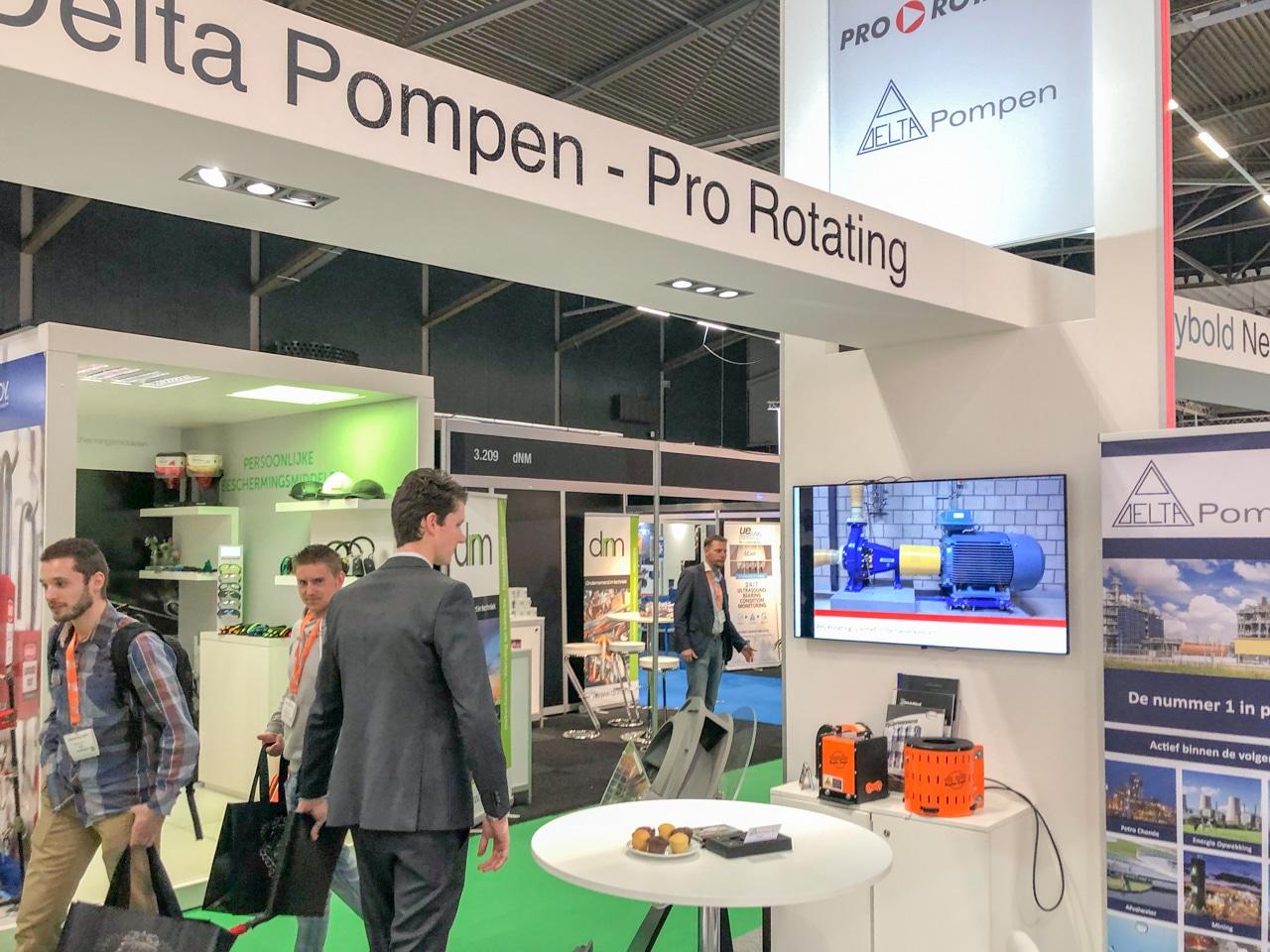 Delta Pompen Presenting Uniguard Machine Guards at Maintenance NEXT Expo
