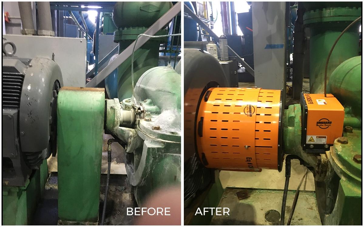 Machine Guarding Solution for Patterson Pump