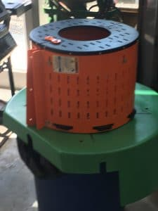 Barrel guard on a motor end bell