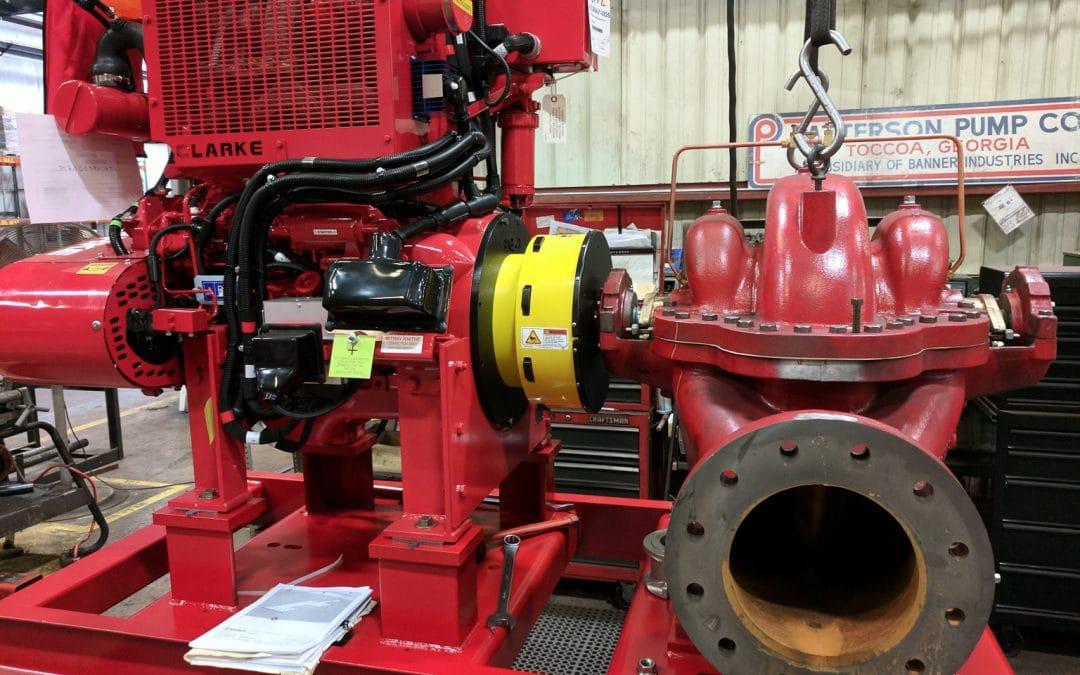 Machine Guard for Fire Water Pump