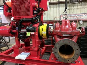 Fire Water Pump SAE 3