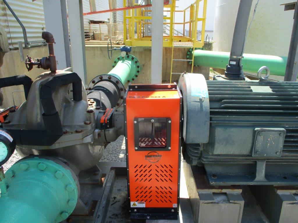 CLGU Machine Guard for Chemical Plant