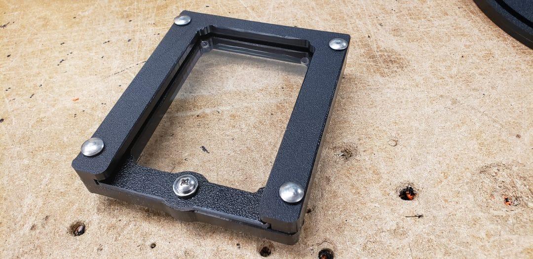 flat inspection window
