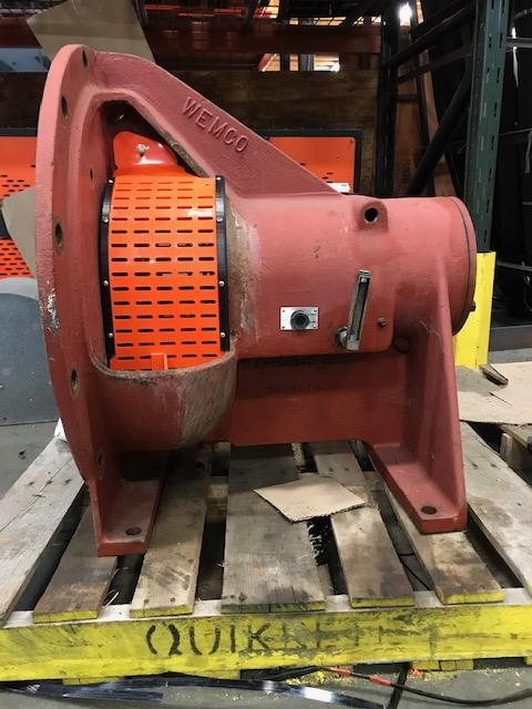 Seal Area Machine Guard for Wemco Pumps