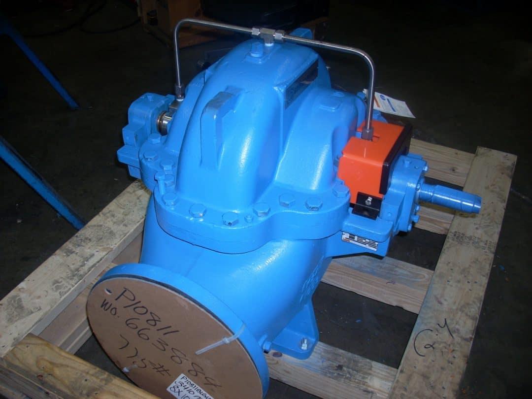 3410L shaft split case double hung pump