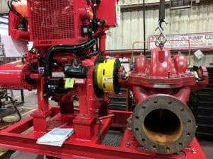 Patterson Fire Water Pump Guard
