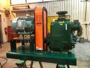 Pioneer Trash Pump with Vertical Guard