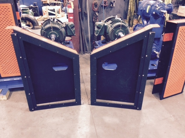 Gorman Rupp VS3 Series with Uniguard Horizontal Belt Guard
