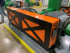 HBG at Waste Water Treatment Plant Blower Guards