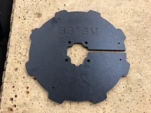 Barrel Guard Mounting Plate 3316M