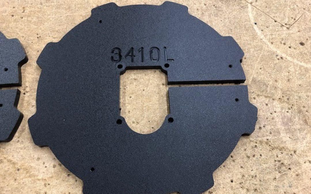 Barrel Guard Mounting Plate 3410L