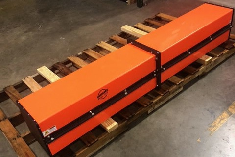 Uniguard Jackshaft Guards for Paper Machine