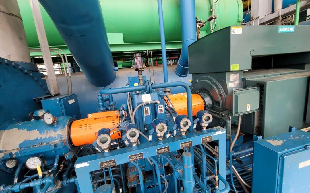 Custom Adjustable Barrel Guard for a 5000 Ton Chiller Compressor