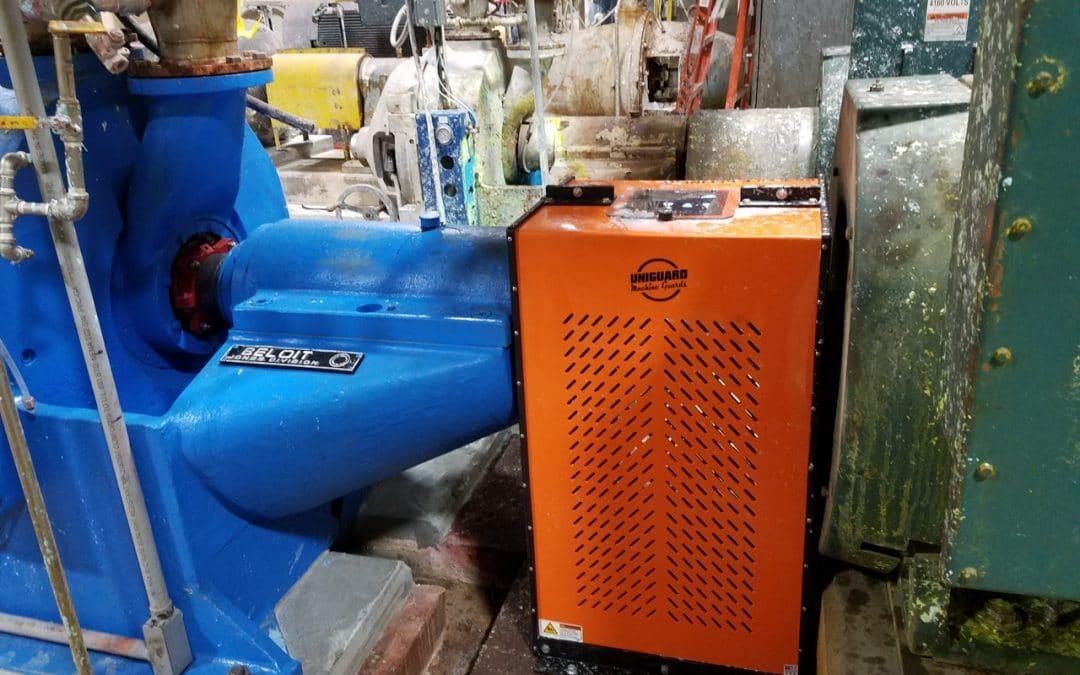 CLGU Machine Guard for Papermill Refiner