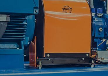 CGU-Kit guard with shaft insert panels