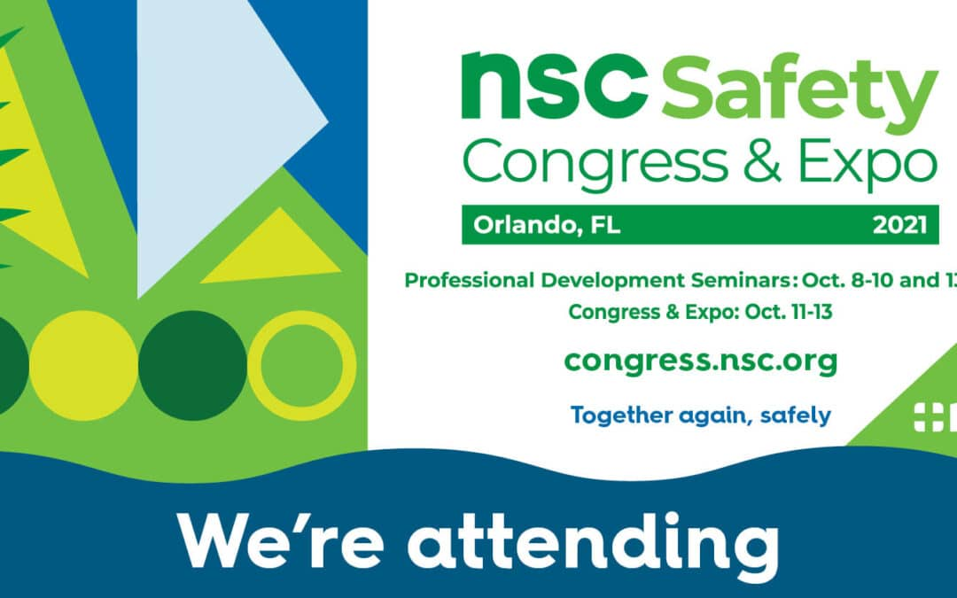 Uniguard Machine Guards at the 2021 NSC Safety Congress & Expo Conference