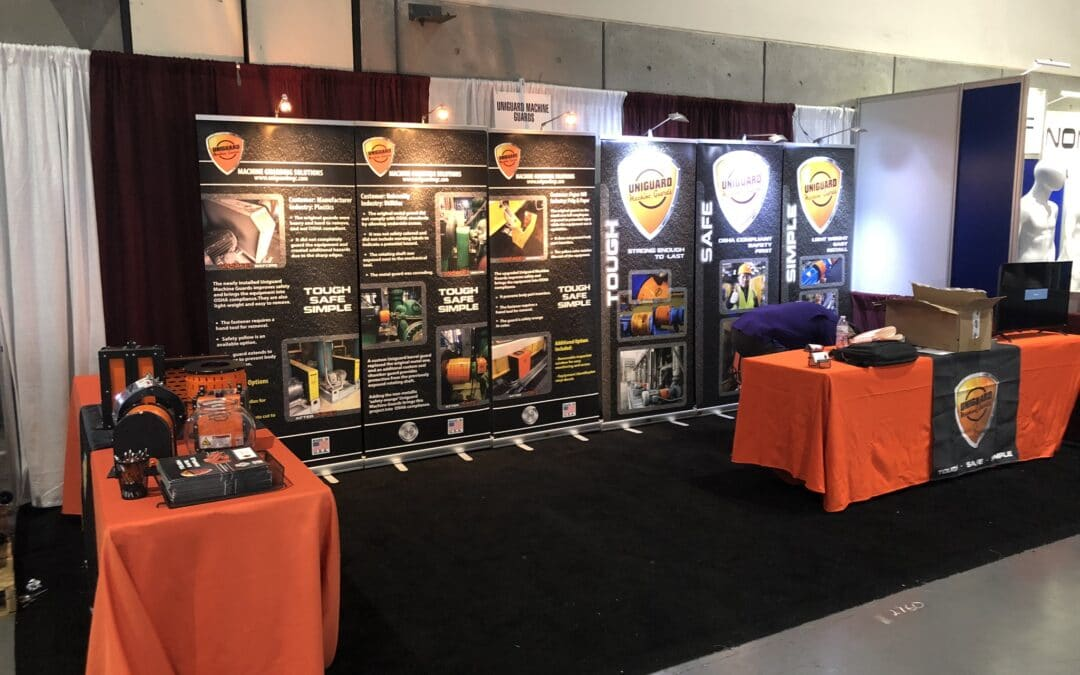 Uniguard Machine Guards at the 2021 PPSA Safety and Health Conference