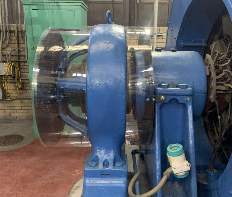 Uniclear Machine Guard at Northeastern Municipality Water Plant